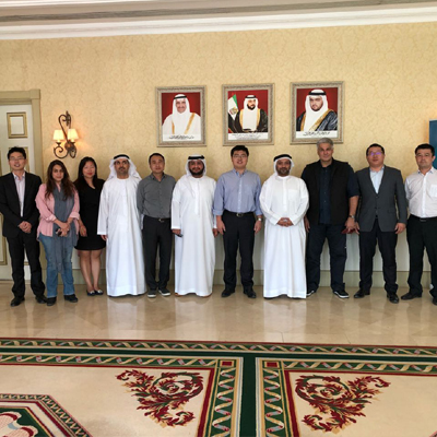 Chairman of Fujairah Free Zone Authority ReceivesChinese Delegation