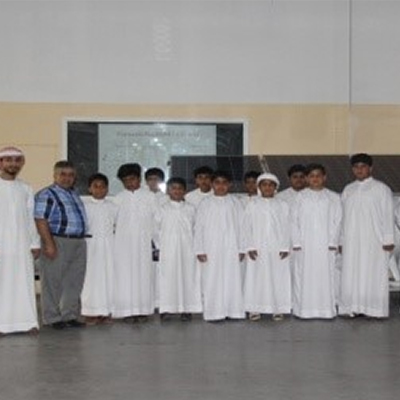 Fujairah Free Zone Authority organizes field visit for students of Abu Jandal School to Solon factory.